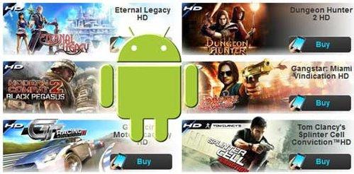 Todos los juegos de Gameloft HD [Juegos Moviles Android][Marzo][2012][Gratis]