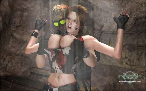 Lara croft and mercenaries